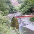 軌道跡を利用した橋